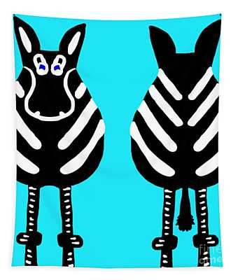 Zebra - Both Ends Tapestry