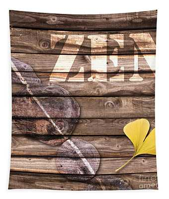 Zen Collage Tapestry