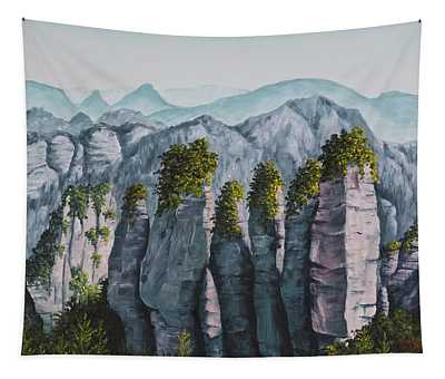 Zhangjiajie China Tapestry