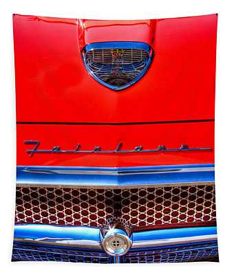 1958 Ford Fairlane Skyliner Convertible Tapestry