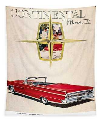 Ford Avertisement, 1959 Tapestry