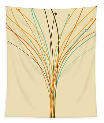 Graphic Tree Tapestry