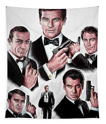 Licence To Kill Tapestry