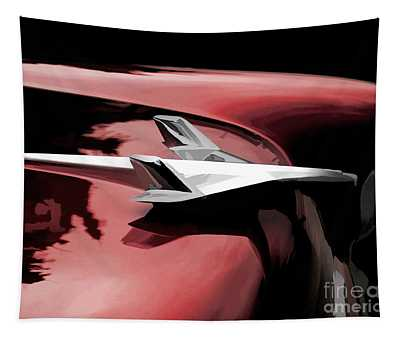 Red Chevy Jet Tapestry