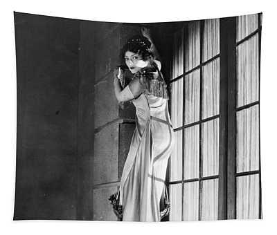Damsel In Distress Tapestry
