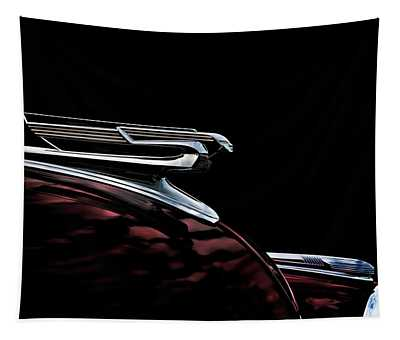 1940 Chevy Hood Ornament Tapestry