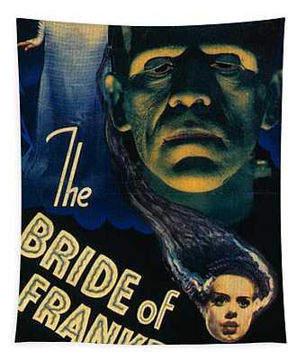 Bride Of Frankenstein 1935 Tapestry