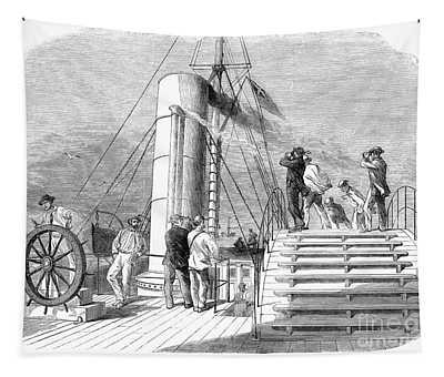 Civil War: Blockade, 1864 Tapestry