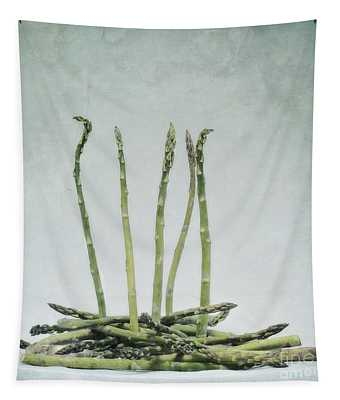 A Bunch Of Asparagus Tapestry