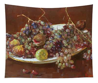A Greek Summer Plate Tapestry