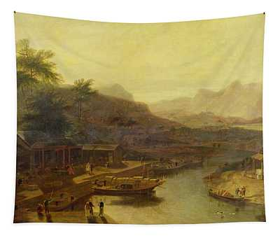 A View In China - Cultivating The Tea Plant Tapestry