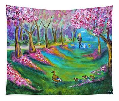 A Walk In The Park Tapestry