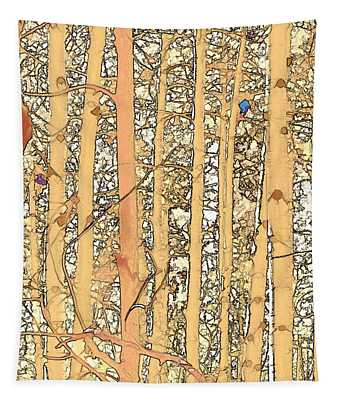 Abstract Aspens Tapestry