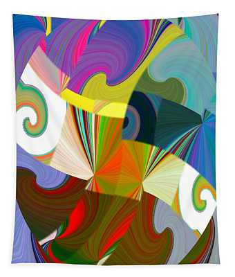 Abstract Fusion 24 Tapestry