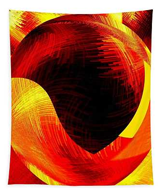 Abstract Fusion 40 Tapestry