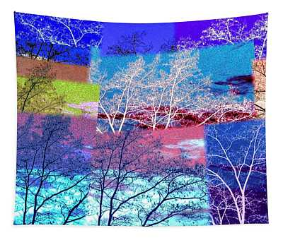 Abstract Fusion 46 Tapestry