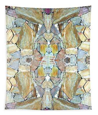 Abstract Fusion 67 Tapestry