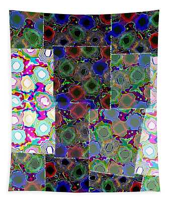 Abstract Fusion 72 Tapestry