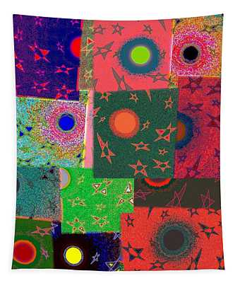 Abstract Fusion 79 Tapestry