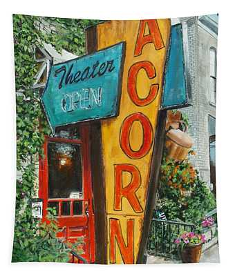 Acorn Theater Tapestry