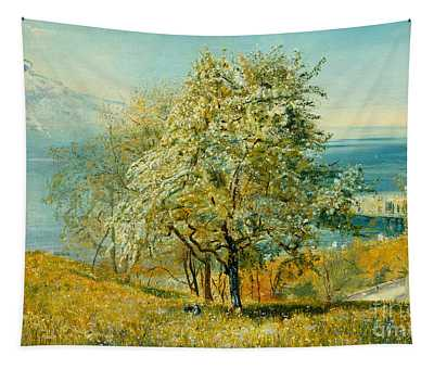 An Alpine Lake Tapestry