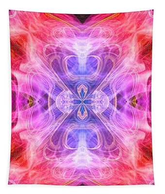Angel Of Compassion Tapestry