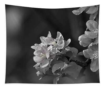Apple Blossom Days Tapestry