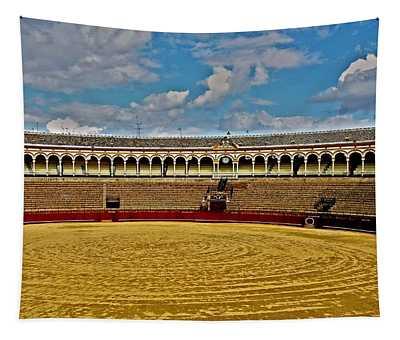Arena De Toros - Sevilla Tapestry