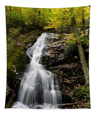 Autumn Waterfall Tapestry