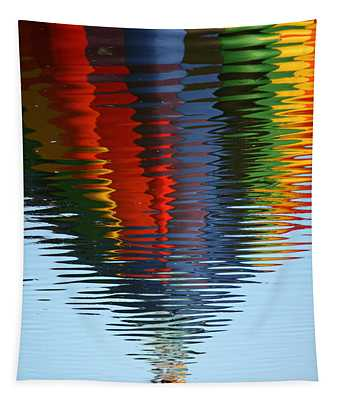 Balloon Waves Tapestry
