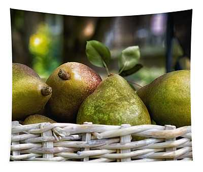 Basket Of Pears Tapestry