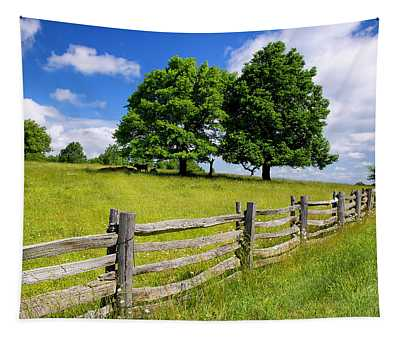 Beautiful Virginia Pasture Tapestry