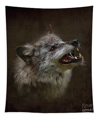 Big Bad Wolf Tapestry