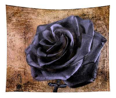 Black Rose Eternal   Tapestry