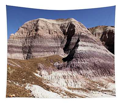 Blue Mesa Castle Tapestry