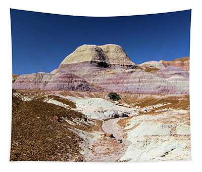 Blue Mesa Tower Tapestry