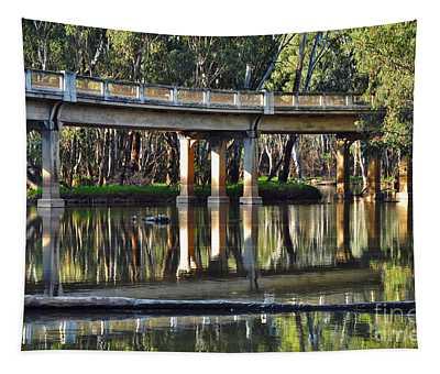 Bridge Over Ovens River 2 Tapestry