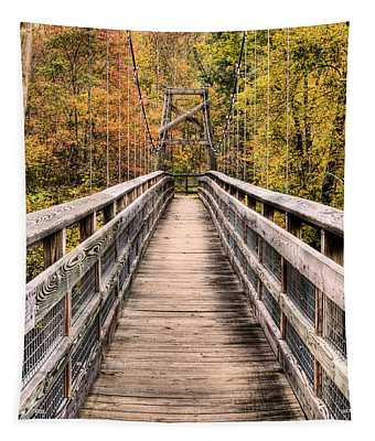 Bridging The Seasons Tapestry by JC Findley