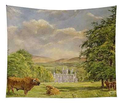 Bulls At Balmoral Tapestry