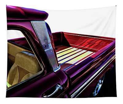 Chevy Custom Truckbed Tapestry