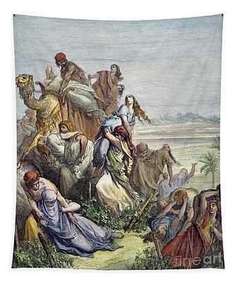 Children Of Benjamin Tapestry