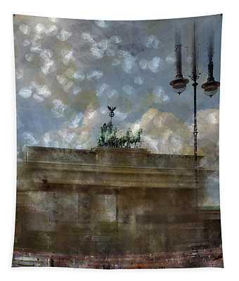City-art Berlin Brandenburger Tor II Tapestry