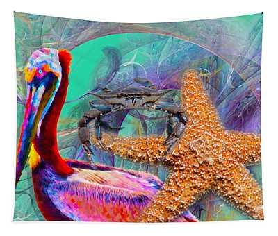 Coastal Life II Tapestry