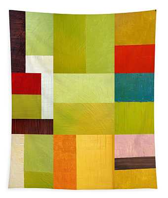 Color Study Abstract 9.0 Tapestry