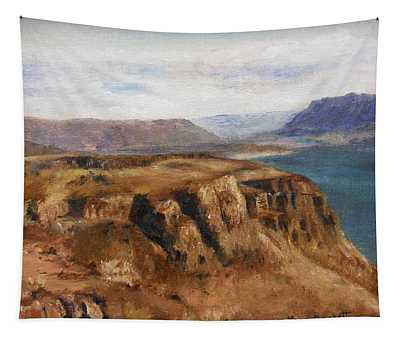 Columbia River Gorge I Tapestry