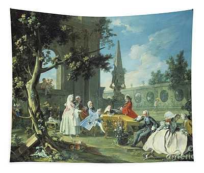 Concert In A Garden Tapestry