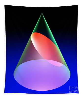 Conic Section Ellipse 6 Tapestry