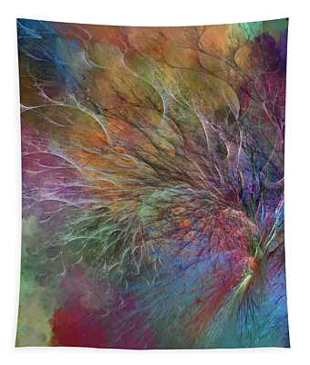 Coral Depths Tapestry
