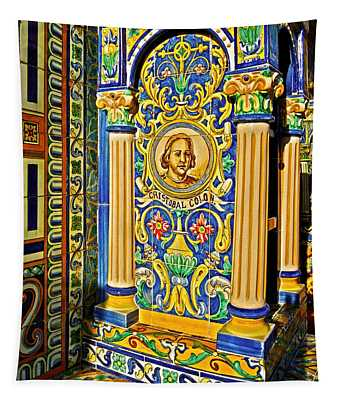 Cristobal Colon ...  Tapestry
