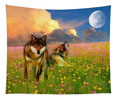 Cry At The Moon Tapestry